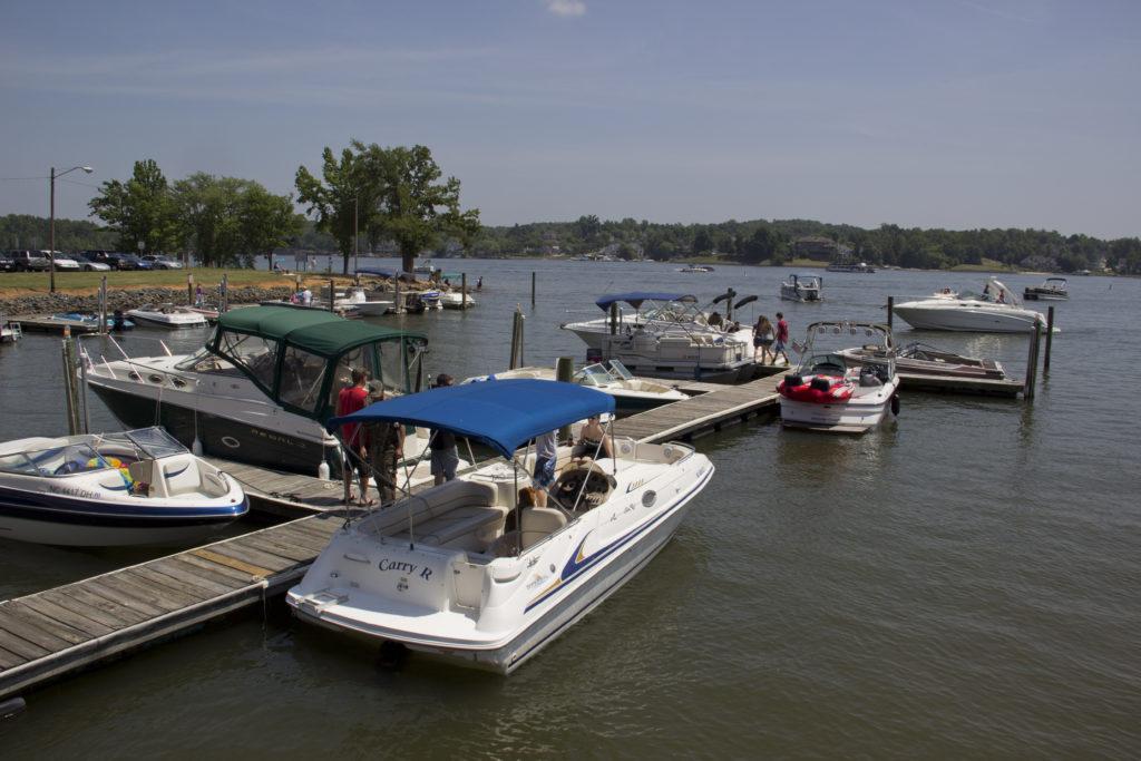 boating lake wylie